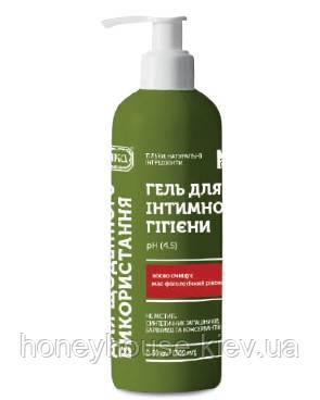 Гель для интимной гигиены Для ежедневного использования, pH 4.5, 300 мл. ТМ ЯКА, Зеленая серия - Медова хатинка в Киеве