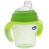 Чашка непроливайка 6 + Chicco Soft Cup 200 мл