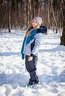 Женский зимний костюм на овчине