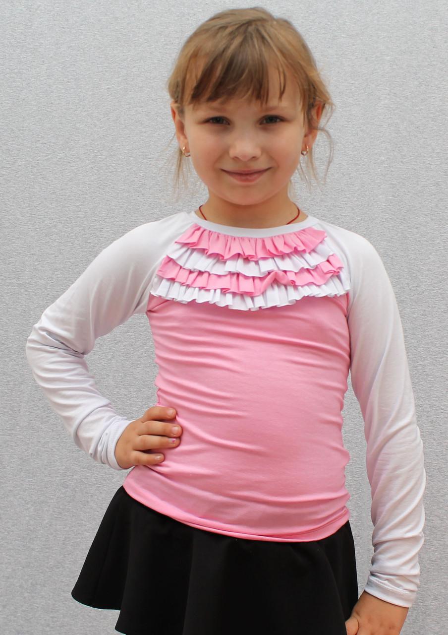 Школьные водолазки для девочек  розовая