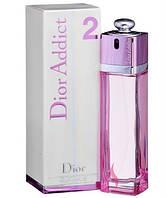 Женская туалетная вода Christian Dior Addict 2 100мл. edt Tester Original