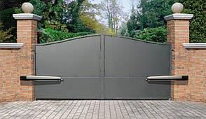 Металлические сварные ворота, фото 2
