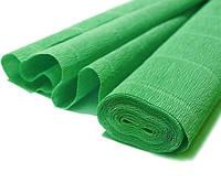 Креповая бумага Extra 140 гр/м, зеленая