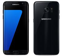 Смартфон Samsung G9350 Galaxy S7 EDGE Duos 4/128 gb Black Onyx  3600 мАч Qualcomm Snapdragon 820