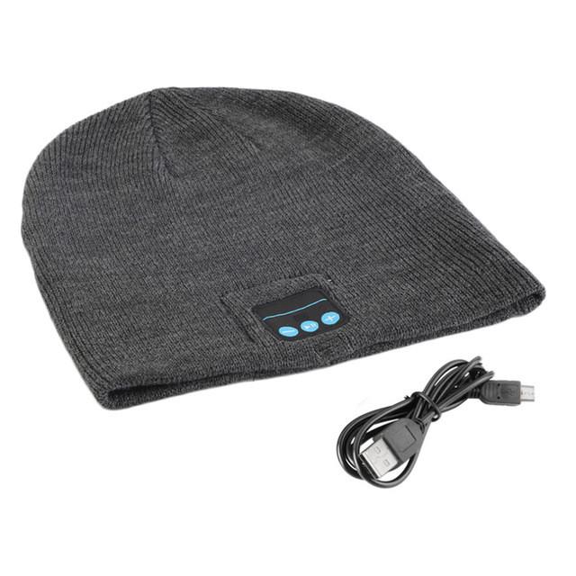 Шапка с Bluetooth наушниками Bluetooth Music Hat