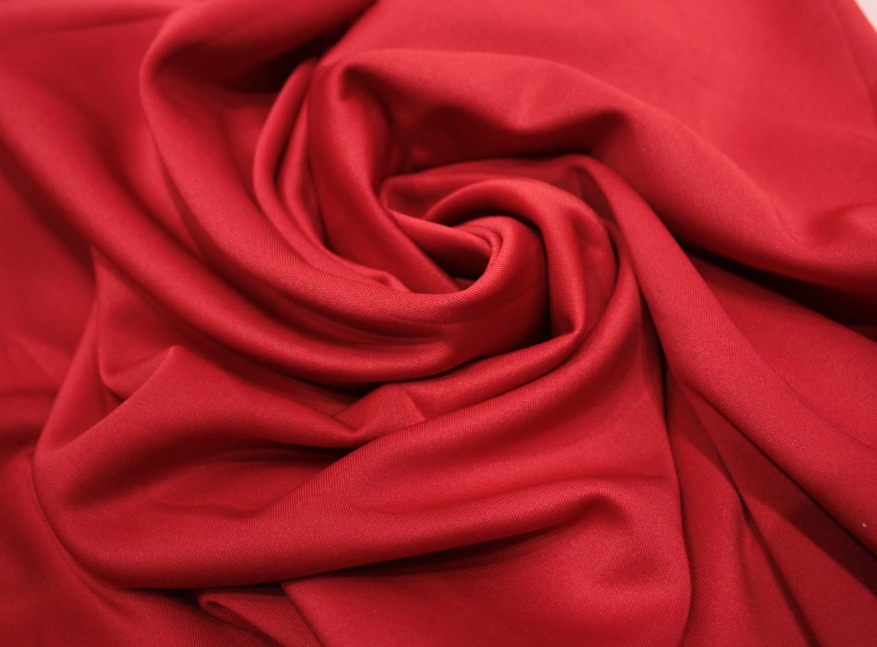 Трикотаж дайвинг красный