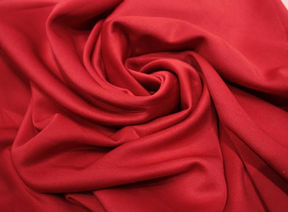 Трикотаж дайвинг красный, фото 2