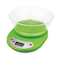 Весы бытовые кухонные YZ-1811B-EK-01 с круглой чашей