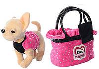 Собачка в сумочке M3651 Кикки, звуковые эффекты. Интерактивные игрушки, игрушки для девочек