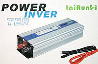 Авто инвертор, преобразователь напряжения 12/220 500w