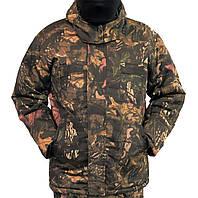 Куртка зимняя длинная Дубок с капюшоном р. 48-58
