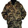 Куртка зимняя на резинке Пиксель с капюшоном р.54-58