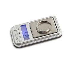 Мини-весы ювелирные 6202-pa (200 г), жк-дисплей с подсветкой, высокая точность, дискретность 0,01г, учет тары