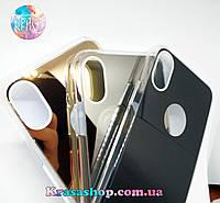 Зеркальный чехол для Apple iPhone X с двумя камерами, фото 1