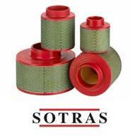 Воздушный фильтр компрессора УКВШ-15/7  (SOTRAS SA6043, MANN CF1300)
