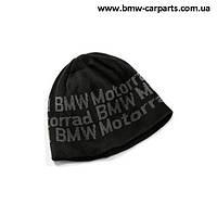 Вязаная шапка BMW Motorrad Knitted Beanie Logo 1f42945d00880