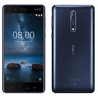 Смартфон Nokia 8 Dual SIM Blue 4/64gb Qualcomm Snapdragon 835 3090 мАч