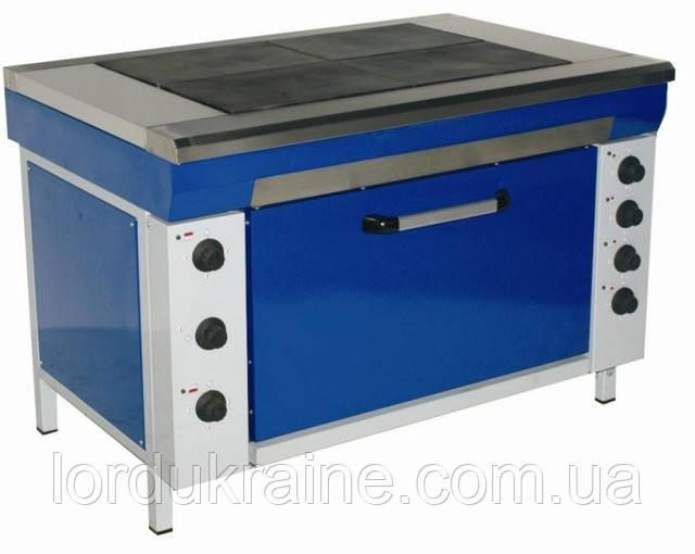 Плита электрическая промышленная с духовкой ЭПК-4МШС (стандарт) ТМ ЭФЕС
