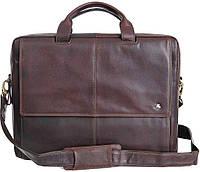 Кожаная сумка для ноутбука Visconti ML-24 - Anderson brown