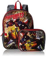 Рюкзак детский с ланчбоксом Transformers