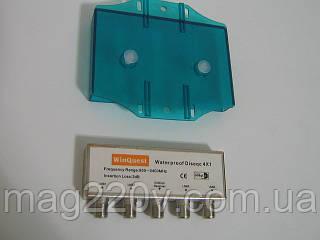 DISEqC WinQuest 4x1 в кожухе
