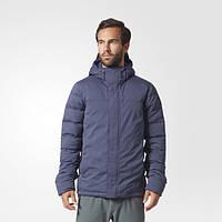 Зимний пуховик мужской Adidas Climawarm ALLZEIT Jacket Black BQ6815
