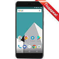 "Смартфон 5.2"" Vernee M5, 4GB+64GB Синий 8 ядер камера 13 Мп автофокус сканер пальца Android 7 LCD IPS"