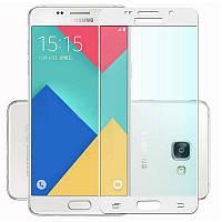 3D защитное стекло для Samsung Galaxy A7 2016 SM-A710 (на весь экран)