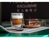 Скляні стакани з подвійними стінками Bodum (репліка) 80 мл (без напису Bodum), фото 1