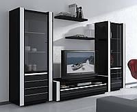 Комод ТВ плазма и однодверные витрины, Status, Италия.