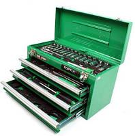 Ящик с инструментом (3 секции)  80 ед. TOPTUL GCAZ0001