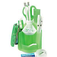 Набор настольный для руководителя Economix Е31713-06 13 предметов зеленый