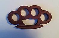 Кастет сувенирный деревянный (дубовый), фото 1