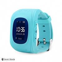 Детские Смарт-часы с GPS - Q50 (Smart Baby W5 GPS Smart Tracking Watch blue)