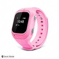 Детские Смарт-часы с GPS - А8 (Baby smart watch A8 pink)