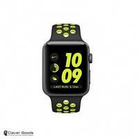 Смарт-часы Apple Watch Nike+ 38mm Space Gray Aluminum Case with Black/Volt Nike Sport Band (MP082)
