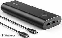Внешний аккумулятор (Power Bank) Anker PowerCore+ 20100 USB-C V3 Black (A1371H12)