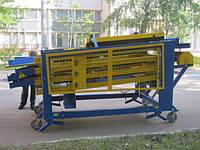 Машина для сортировки калибровки картофеля и овощей по размеру на 4 фракции