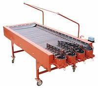 Инспекционный стол 1000х2500 мм для картофеля