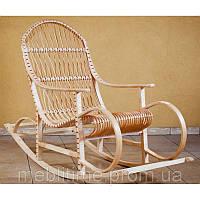 Кресло качалка плетеное из лозы Бука-Бука