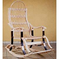 Кресло качалка плетеное из лозы Особенное