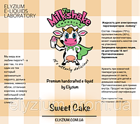 Milkshake Жидкость для заправки электронных сигарет 30мл, 0мг, Sweet Cake