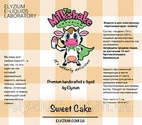 Milkshake Жидкость для заправки электронных сигарет 60мл, 0мг, Sweet Cake