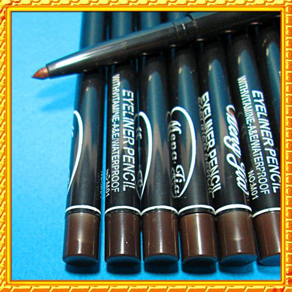 Карандаш для глаз коричневый выкручивающийся, качественная косметика оптом упаковкой и в розницу по всей Украине интернет-магазин opt21.com.