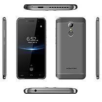 "☀Смартфон 5"" HOMTOM HT37 Pro, 3GB+32GB Серый 4 ядра изогнутый экран touch id Galaxy Core GC5005 8Мп Android 7, фото 3"