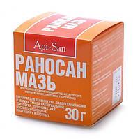 Мазь Раносан 30 г  антисептический, ранозаживляющий препарат для лечения ран у животных