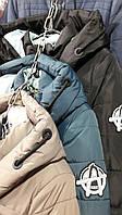 Женское зимнее пальто с капюшоном на шнурке