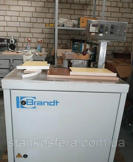 Криволинейный кромкооблицовочный станок б у Brandt KTD51 1998г.