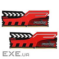 Модуль памяти для компьютера DDR4 16GB (2x8GB) 3200 MHz EVO Forza Hot-Rod Red G (GFR416GB3200C16ADC)