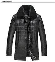Кожаная мужская куртка.Дубленка мужская., фото 1